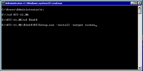 Install ATIManager