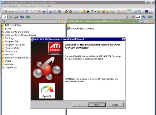 Install ATIDriver